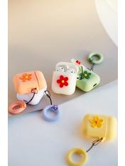 Чехол для наушников Apple Цветок
