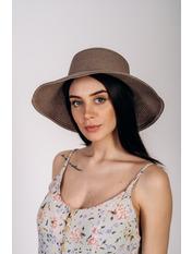 Шляпа слауч SHL-2045 Красный Темно-капучиновый