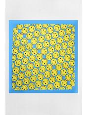 Банданы оригинальные 55*55 Желтый Желтый+голубой