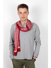 Чоловічий шарф Полукс 166*27 Червоний Червоний