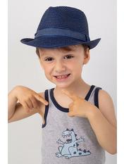 Шляпа детская Барбадос Синий Индиго 51