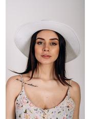 Шляпа канотье Джина Белый Белый 57
