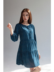 Сукня Донна Синій XS Індиго