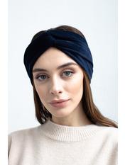 Повязка на голову Аиша one size Синий Темно-синий