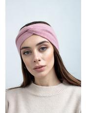 Повязка на голову Виардо one size Розовый Пудровый