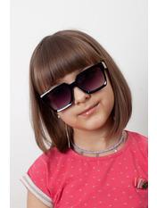 Солнцезащитные детские очки 2032 12,5*4,3 Черный Черный
