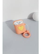 Чехол для наушников Apple Лав one size Оранжевый Оранжевый