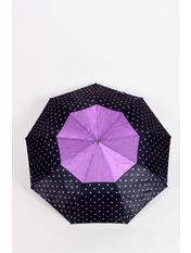 Зонт Дениз Черный+лиловый