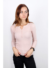 Гольф трикотажный Люси Розовый Пудровый S-M