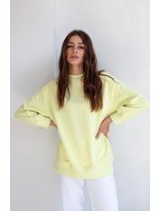 Свитшот KOF-5422 XS Желтый Лимонный