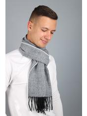 Мужской шарф Саймон 180*30 Серый Серый