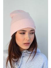 Шапка Байс one size Розовый Розовый