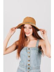 Шляпа федора Гелия Капучино Капучиновый 54-56