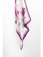 Платок Сигрид 70*70 Фиолетовый Фиолетовый