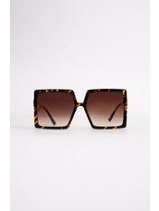 Сонцезахисні окуляри К 01 999 Коричневый с принтом Коричневый