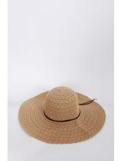Шляпа широкополая Кими 57-58 Капучино Светло-капучиновый