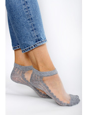 Носочки Шейла Серый 36-39 Серый