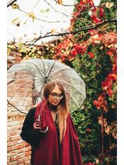 Женский зонт PK-2000 Черный