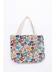 Пляжная сумка SYM-4075 Голубой