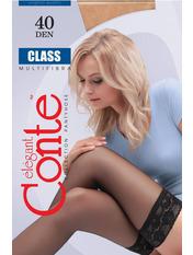 Чулки Conte Class 40 den 1/2 (23-25) natural