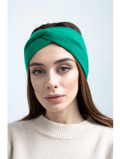 Повязка на голову Виардо one size Зеленый Зеленый