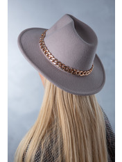 Шляпа фетровая SHL-А1(7) Серый
