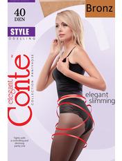 Колготки Conte Style 40 den 3 bronz