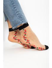 Носочки Кипс упаковки Разные цвета - 5 Черный free size