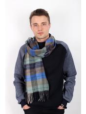 Чоловічі шарфи MS-04 Бирюзовый Голубой 180*30