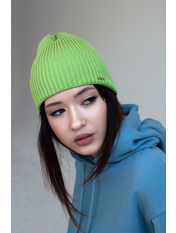 Шапка Риана one size Зеленый Оливковый