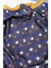 Платок атласный PA-2001-4 Синий