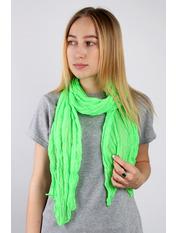 Шарф Косичка однотонный 170*50 Зеленый Салатовый