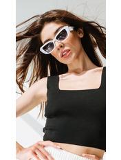 Солнцезащитные очки В2092 Белый 999 Молочный