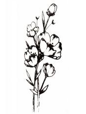 Бодиарт Полевые Цветы