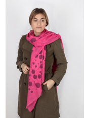 Шарф Сарра 178*88 Розовый Розовый