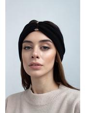 Повязка на голову Алия one size Черный