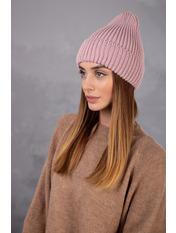 Шапка SHP-93023 Розовый Пудровый