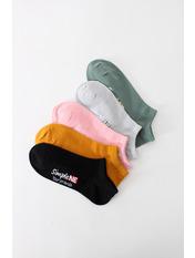 Носочки Алиа упаковка Разноцветный Разноцветный  36-39