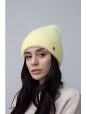 Шапка Либрия Желтый one size Лимонный