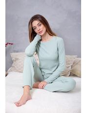 Пижама PGM-7626 Оливковый Зеленый L