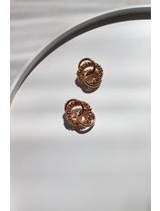 Серьги пусеты SER-21236 Золотистый