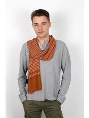 Чоловічий шарф Кастор 160*30 Помаранчевий Помаранчевий