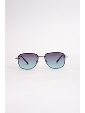 Солнцезащитные очки В2225 14,5*4,4 Фиолетовый Фиолетово-бирюзовый