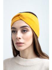 Повязка на голову Виардо one size Желтый Желтый