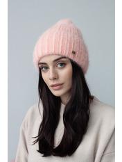 Шапка Юрмала Розовый one size Пудровый