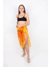 Парео пляжное Элегия one size Желтый Желто-оранжевый