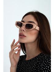 Очки солнцезащитные BRB 2124 14,2*4 Розовый Пудровый