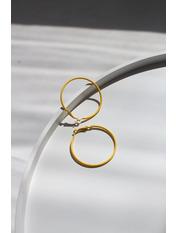 Серьги кольца Мариола 999 Желтый