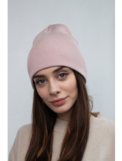Шапка SHP-1727 Розовый Пудровый