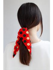 Резинка для волос REZ-21017 Красный